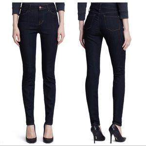 J Brand Maria High Rise Skinny Jeans After Dark